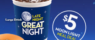 $5 Moonlight Meal Deal